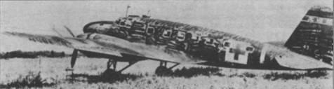 MC.20-II авиакомпании «Дай Ниппон Коку» в камуфляжной окраске. Зеленый крест на белом поле показывает, что самолет эксплуатировался под контролем американцев после окончания боевых действий
