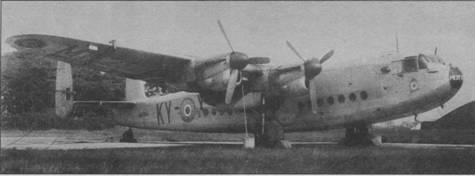 «Йорк» I из 242-й эскадрильи британских ВВС, Дальний Восток, лето 1946г.