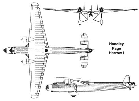 Handley Page Harrow Хэндли-Пейдж «Хэрроу»