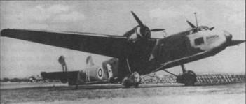 «Спэрроу», использовавшийся во время войны в качестве военно-транспортного самолета