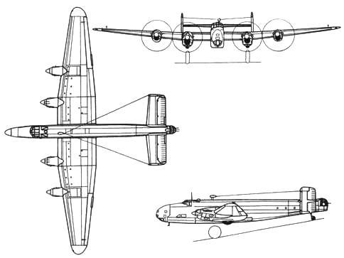 Handley Page Halifax B.V (Spec)