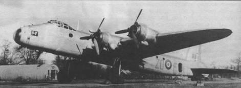 «Стирлинг» V из 196-й эскадрильи британских ВВС