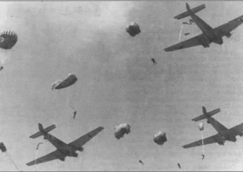 Немецкий десант под Коринфом (Греция), апрель 1941г.