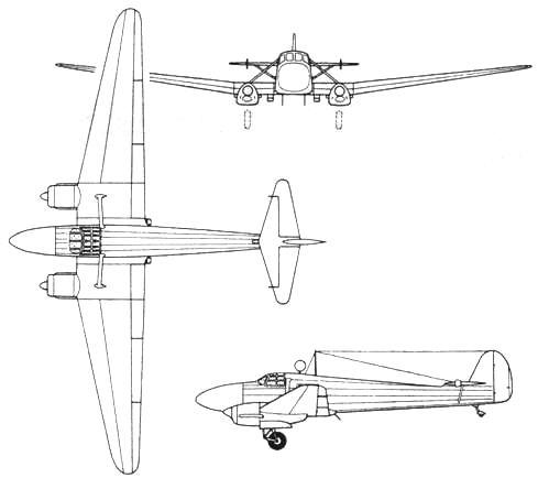 Focke-Wulf FW 58С Weihe