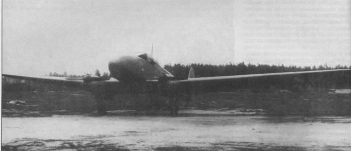 FW 58С-2 на испытаниях в НИИ ВВС, 1940г.