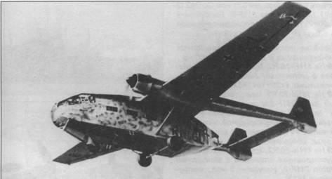 Go 244В-1 в полете, 1942г.
