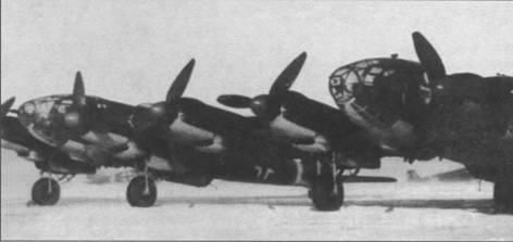Не 111Z на аэродроме в районе Сталинграда, зима 1942г.