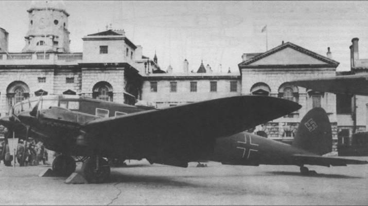 Транспортный самолет Не 111H-10/R1, захваченный англичанами