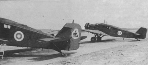 Два W 34 финских ВВС, 1950г.