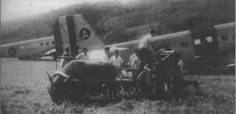 Французский «Тукан» на аэродроме Насан (Вьетнам), начало 1950-х гг.