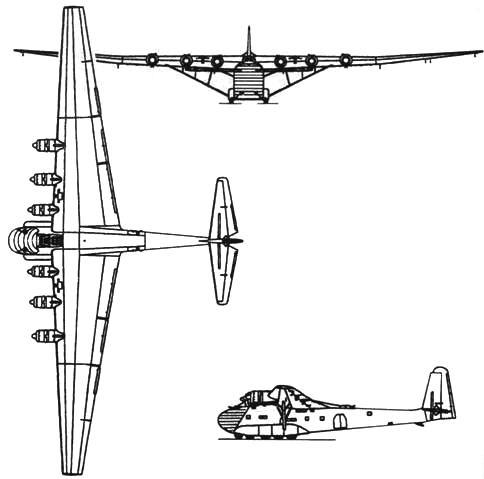 Messerschmitt Me 323D-1 Gigant