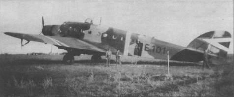 Военно-транспортный S. 75 венгерских ВВС, весна 1941г.