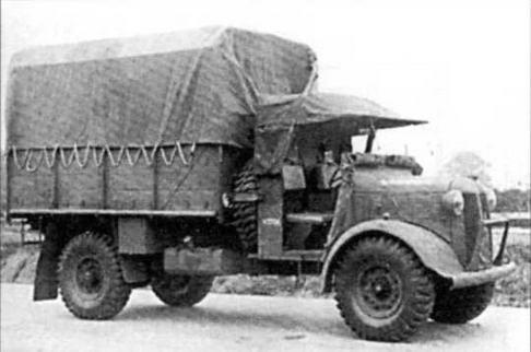 Вверху слева: Автомобиль Austin КЗО