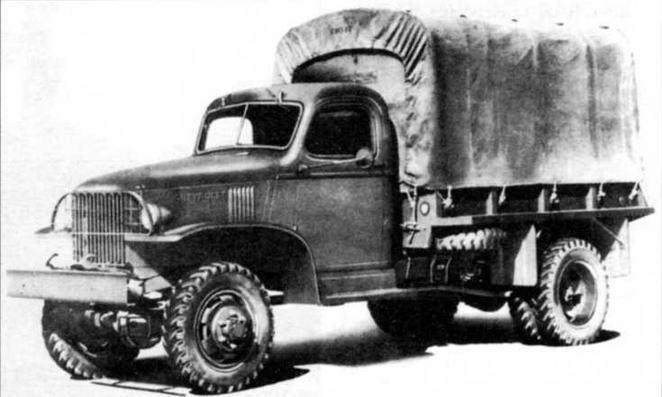 Грузовой автомобиль «Шевроле» G7107