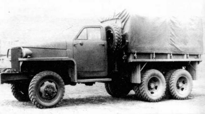 Грузовой автомобиль «Студебекер» US6