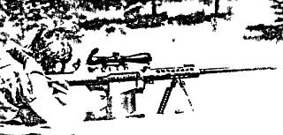 Самозарядная 12,7-мм винтовка <strong>М82А1 «Бумер»