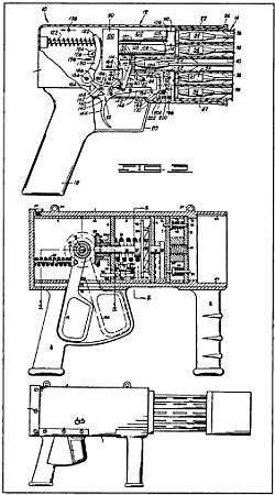 Подводное многоствольное реактивное устройство револьверного типа <strong>Чэнли В. Ламберта