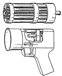 Подводная магазинная гарпунная винтовка <strong>В. Линкольна Барра