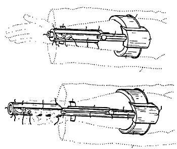 Пистолет-пулемет с кольцевым магазином <strong>Наума Пакхиса