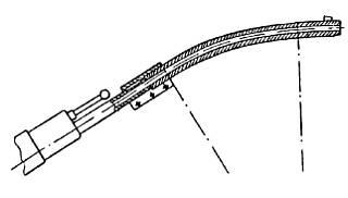 Конструктивная схема криволинейной ствольной насадки