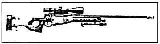 Снайперская винтовка <strong>L96A1 (АW)