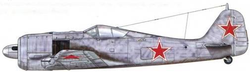 Fw 190А-4 из 2./JG 54. Вверху изображен тот самый самолет, который был захвачен советскими войсками. Его оригинальная маркировка заменена символикой новых хозяев.