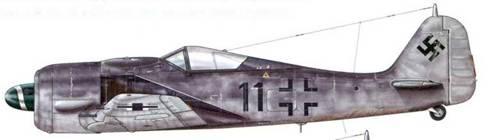 Fw190А-8 из Stab JG 2, Нидда, Германия, декабрь 1944 г.