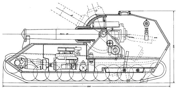 Проект сверх-тяжелого танка «Медведь»
