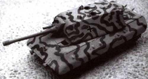Модель сверхтяжелого танка Е-100