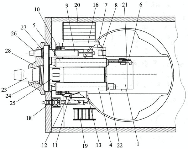 Схема установки вооружения (вид сверху):