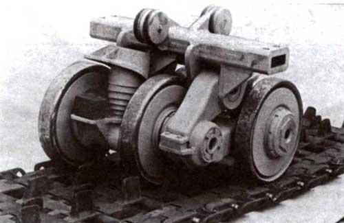 Блок подвески ходовой части