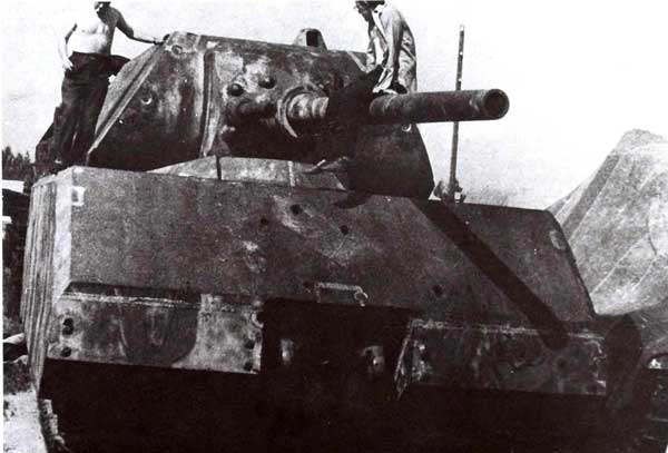 Танк «Маус» на Базе хранения образцов бронетанковой техники в Кубинке. 1960-е годы