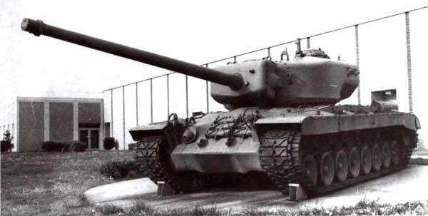 Реальной альтернативой «Маусу» мог бы стать и американский тяжелый танк Т29, вооруженный 105-мм пушкой. Эта машина была создана в 1945 году
