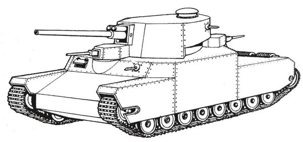 Проект японского сверхтяжелого танка «О-и»