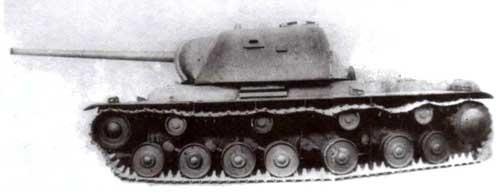 Деревянный макет танка КВ-3 в натуральную величину. Весна 1941 года