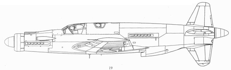 Do 335М17, прототип ночного истребителя Do 335В-6.