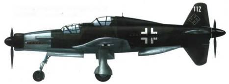 Do 335A-12 (W.Nr. 240112, RP+UB), камуфляж RLM 81 /82/iieoicpaiiieiiiibi» i дюраль.