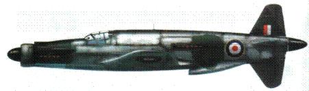 Do 335А-1 W.Nr. 24016? (английский номер АМ225). Сначала на самолете были американские опознавательные знаки. Капот переднего двигателя окрашен, остальная поверхность самолета в цвет дюраля.