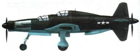 Do 335А-12 W.Nr. 240112, перекрашенный американцами. Верхняя часть капота окрашена.