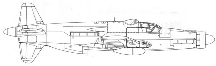 Do 335B-6, вид справа. Проект, реконструкция.
