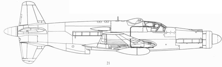 Do 335В-8, проект, реконструкция.