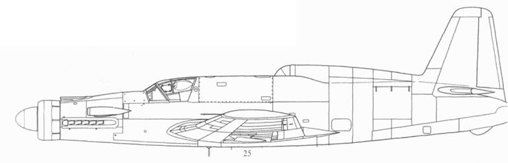 Do 535А(1) с несколько модифицированным фюзеляжем. Воздухозаборник реактивного двигателя закрыт. Проект, реконструкция.