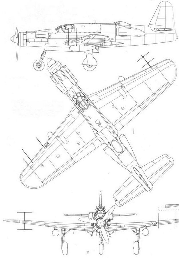 Do 535В, еще один проект ночного истребителя со смешанной двигательной установкой. Реконструкция (проект Р.254/1-03).