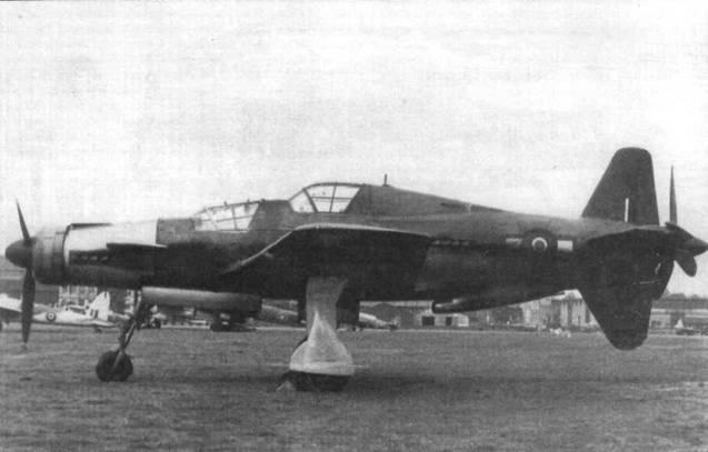 Do 335A-12 (W.Nr. 240112), попавший в руки англичан.