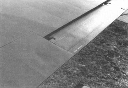 Элерон правого крыла Do 335А-02.