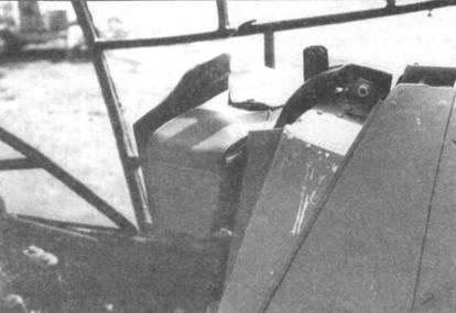 Изголовье кресла пилота на Do 335А-02.