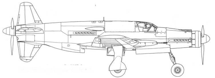 Do 335М14, второй прототип Do 335В-2.