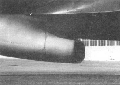 Воздухозаборник радиатора заднего двигателя на Do 335А-02.