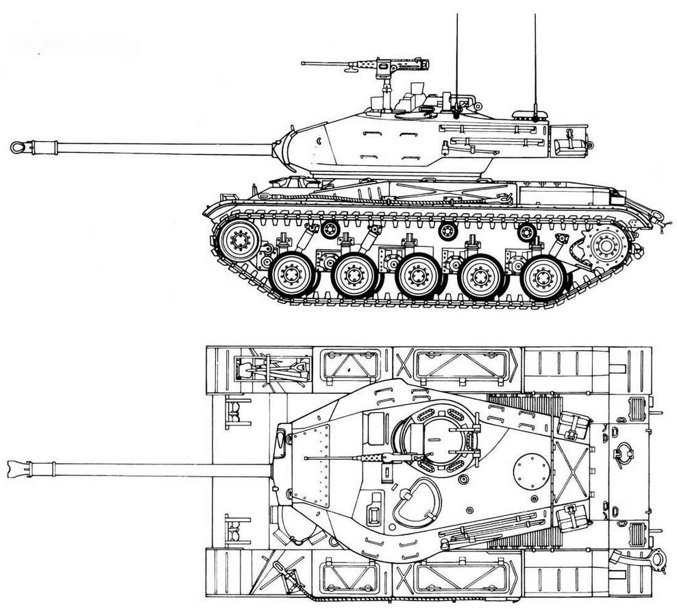 М41 Wolker Buldog