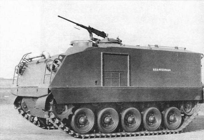 Опытный образец бронетранспортера Т18Е1